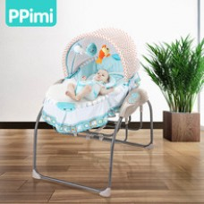Electric crib newborn cradle small shaker baby sleepy artifact portable folding bed