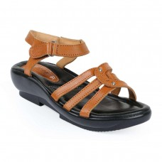 Master Leather Heeled Sandal For Women A0159