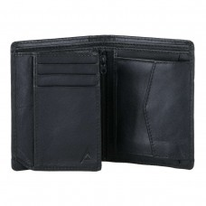 Black Color Leather Gada Wallet for Men WA055