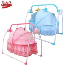 Baby electric shaker multifunctional crib smart electric portable folding music cradle one generation
