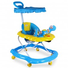 Baby Duck Model Walker, Toddler Walking Assistant with push handle bar (Foot Rest or Umbrella any One)