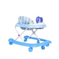Dolphin Baby Walker - Blue