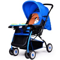 Baby good widening baby stroller two-way can sit flat lying light fold winter summer two-use baby stroller 709