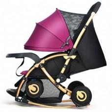 BBH C3 3 in1 Baby Rocking Stroller (Purple)