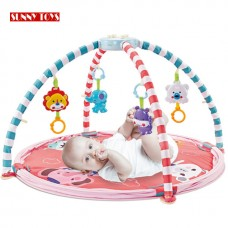 3 in 1 Baby Crawling Activity Play Gym Game Rack Pad Combo Fence Baby Fence Mat with 40 Ball