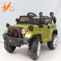 Ride on Car Jeep 12V Electric Truck Kids Battery Powered Remote Control AUX CE Licensed FB-716- Olive