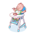 Baby High Chair (5)