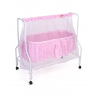 Babyhug Dream Time Cradle Printed-pink