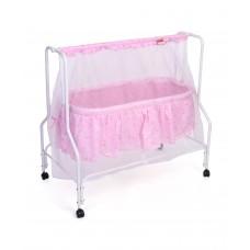 Babyhug Dream Time Cradle Printed-pink