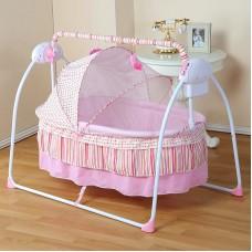 Fashion Electric Baby Crib/Baby Cradle , Electric Baby Rocker, Baby Swing Bed, Big Sp100*55cm