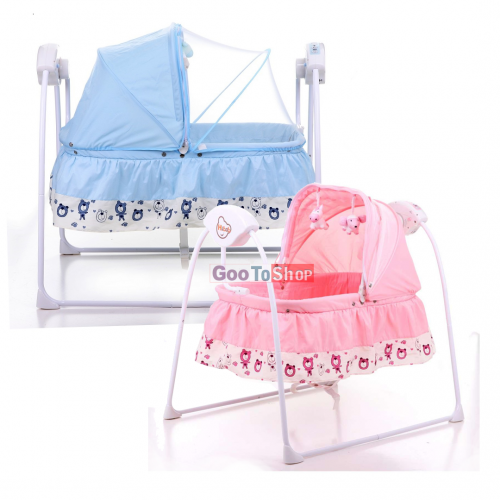 Hibob - Baby Electric Musical Swing With Remote Control