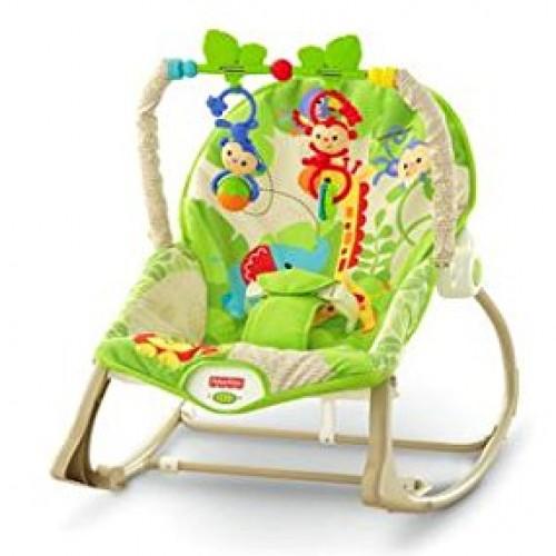 Fisher-Price Rainforest Friends Infant-to-Toddler Rocker