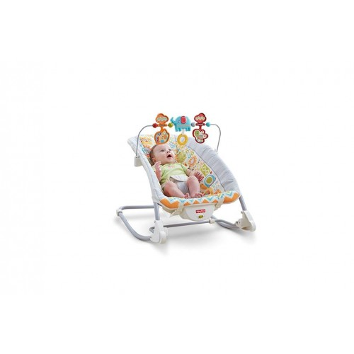 Fisher-Price Deluxe Infant-to-Toddler Rocker, Animal Kingdom