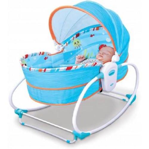 Mastela 5-in-1 Rocker Bassinet for Newborn to Toddler