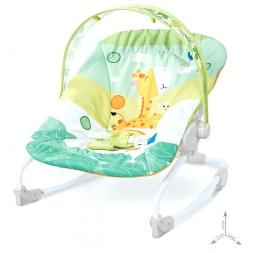 Soft cotton automatic baby balance infant rocking chair