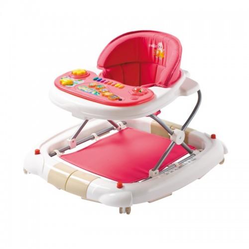 Farlin Baby Walker cum Rocking Chair-Red