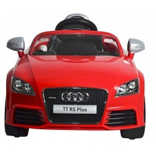 BABY BATTERY OPERATED RIDE ON CAR AUDI 676 AR RED