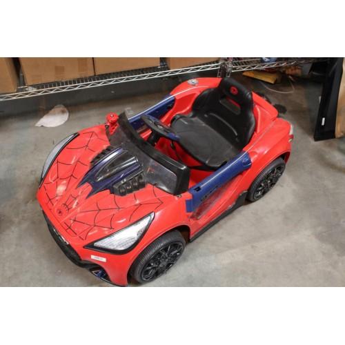 SpiderMan Electric Children's Car