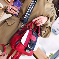 Korean fashion style diagonal cross bag multi-purpose small backpack for women's