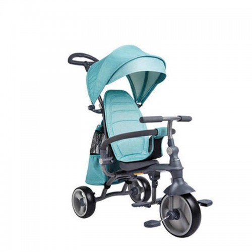 Easy Folding Baby Tricycle Folding High Carbon Steel Frame For Kids
