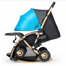 BBH C3 3 in1 Baby Rocking Stroller (blue)