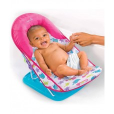 Summer Infant Deluxe Baby Bather, Blue and Pink