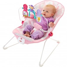 Fisher-Price Deluxe Bouncer : Pink Ellipse