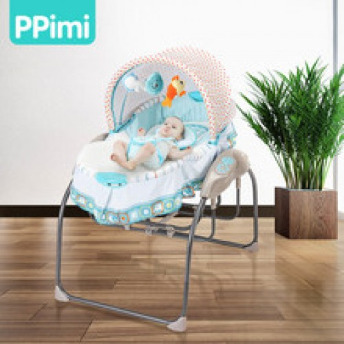 Electric crib newborn cradle small shaker baby sleepy artifact portable folding bed