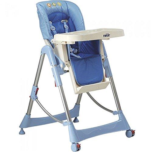 Farlin Baby Luxury High Chair (Adjustable) - Blue