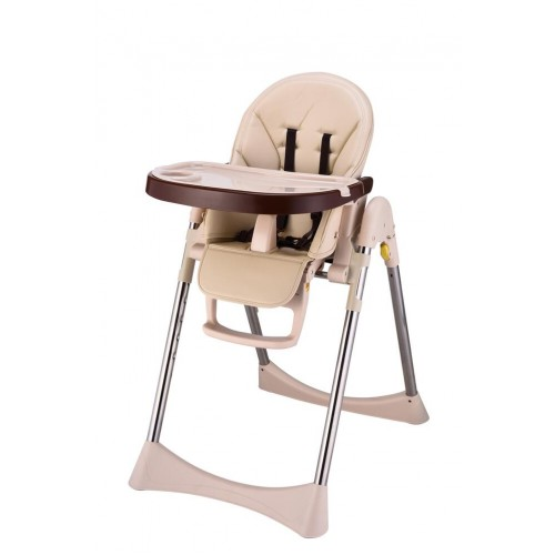 IVOLIA champagne free easy infant installed wholesale plastic baby dining chair adjustable high chair folding chair