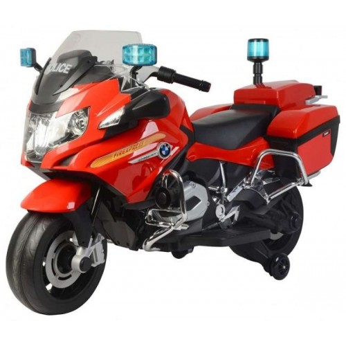 Rechargeable BMW Kids Bike Police Version- Red